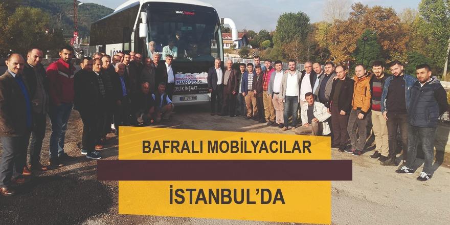 Bafra Mobilyacılar Odası İstanbul'a çıkartma yaptı