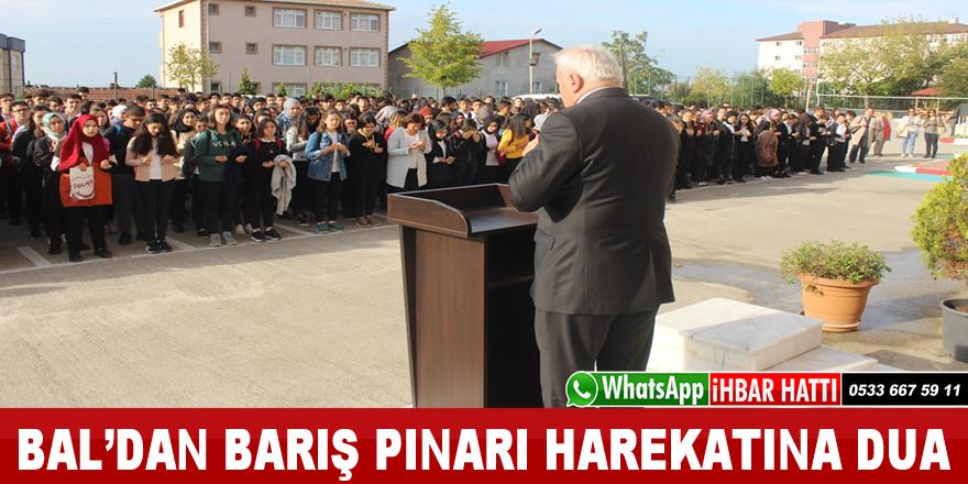 Bal'dan Barış Pınarı Herakatı Askerlerine Dua