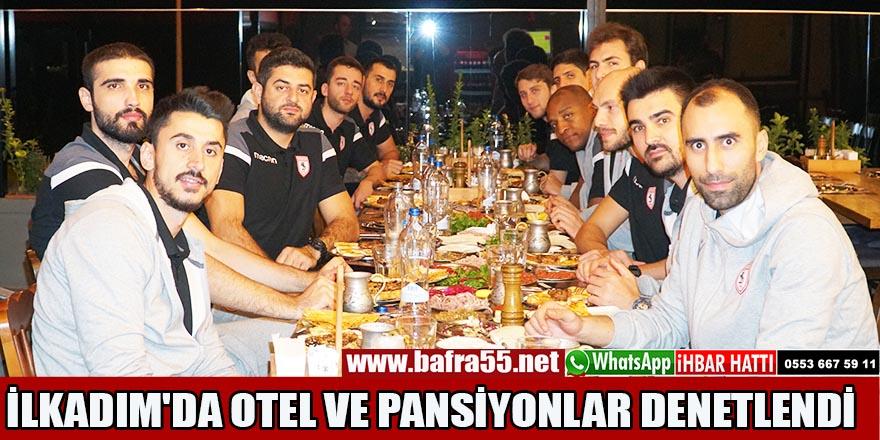 Samsunspor Basket Takımı Akşam Yemeğinde Bir Araya Geldi