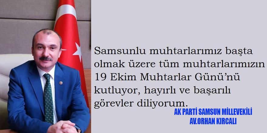 """KIRCALI;MUHTARLAR GÜNÜ MESAJI"""""""