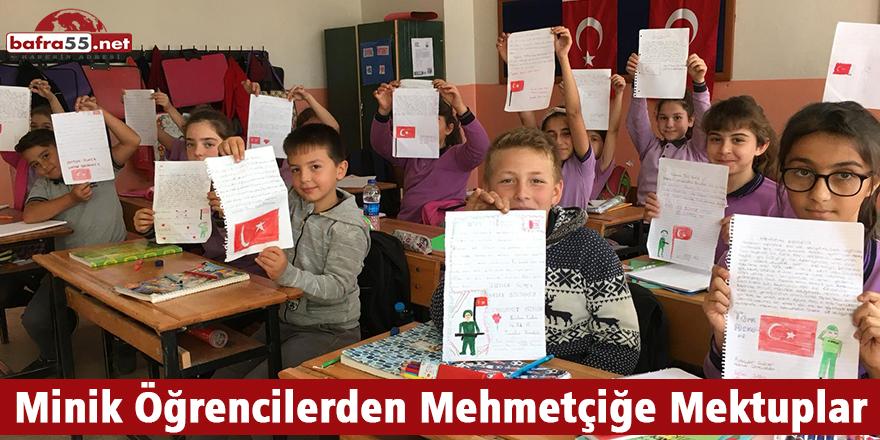 Minik Öğrencilerden Mehmetçiğe Mektuplar