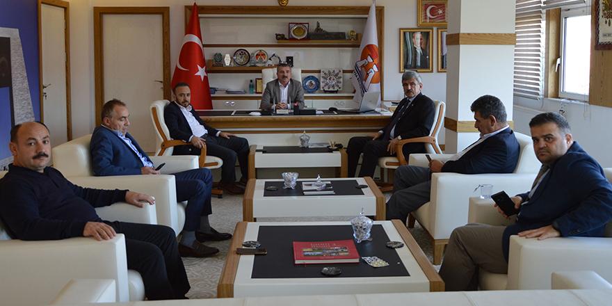 Edis'ten Başkan Özdemir'e ziyaret