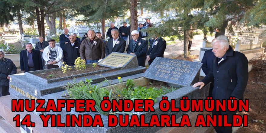 Muzaffer Önder kabri başında anıldı