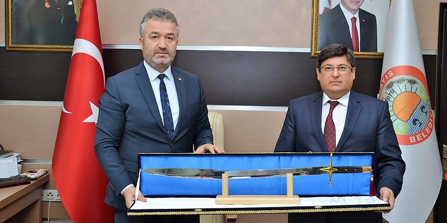 Başsavcı Kılıç'tan Başkan Topaloğlu'na İade-i Ziyaret