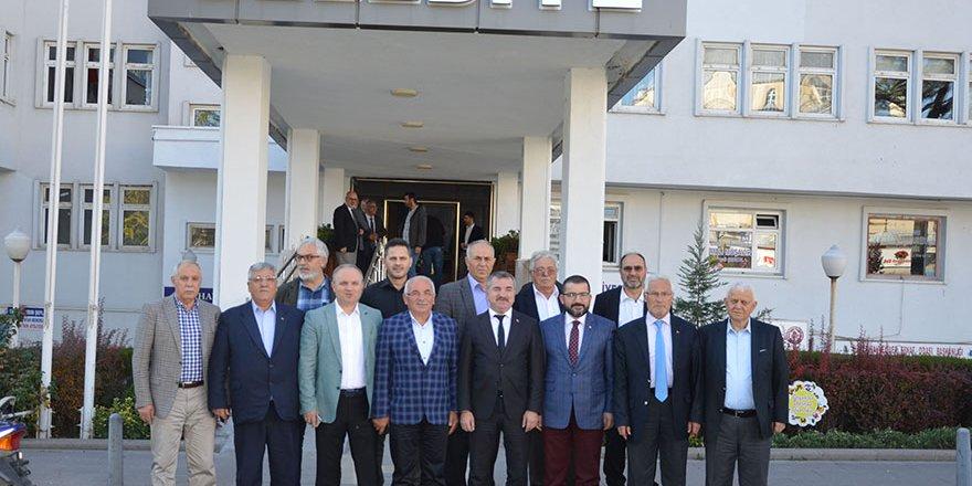 Havza'da Kurucu İlçe Başkanları Bir Araya Geldi