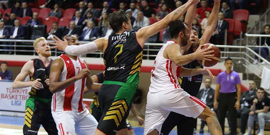 Samsunspor : 101-Gemlik Basket :92