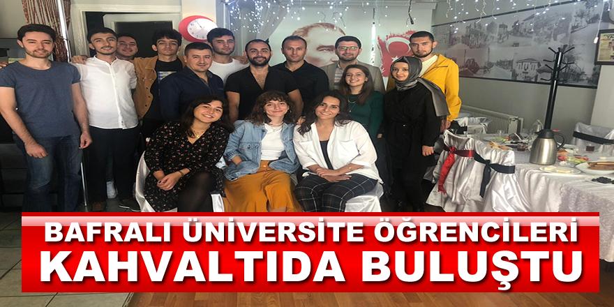 Bafralı Üniversite Öğrencileri Kahvaltıda Buluştu