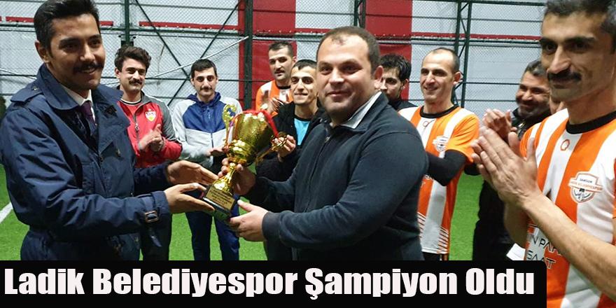 Ladik Belediyespor Şampiyon Oldu