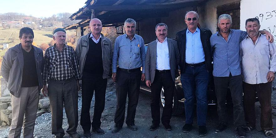 Başkan Özdemir Kırsal Mahallelerde Ziyaretlerde Bulundu