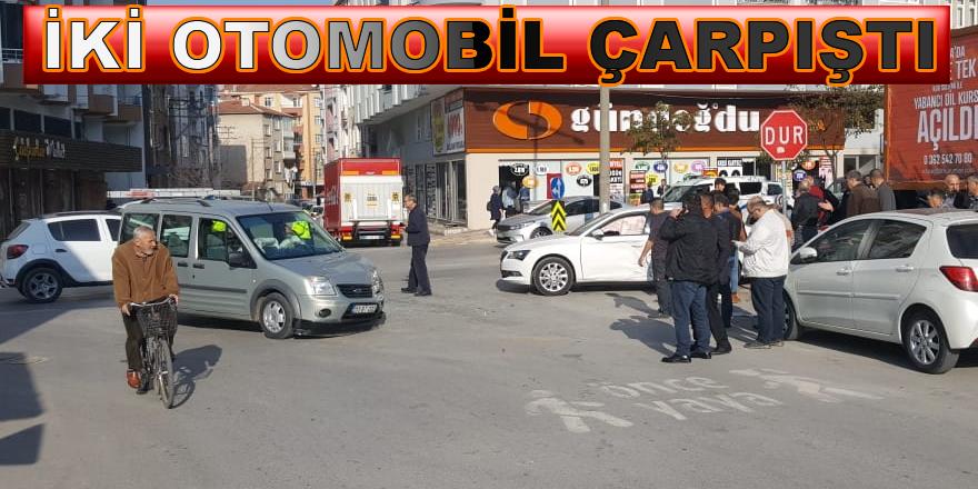 Bafra'da Trafik Kazası; 1Yaralı