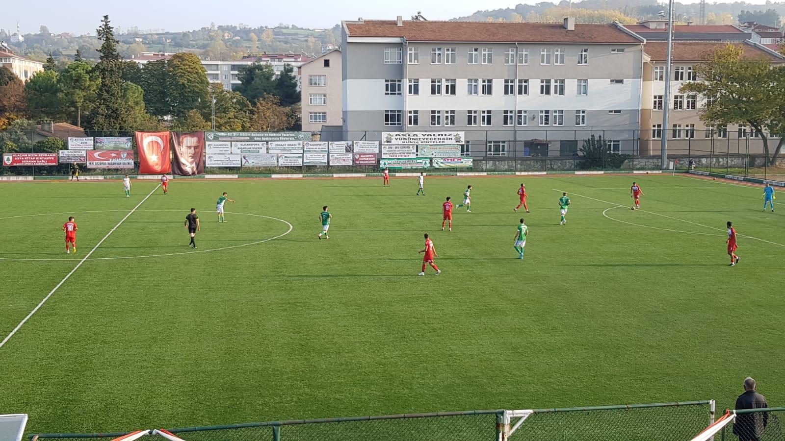 Alaçamspor Havza Belediyespor'u ezdi geçti