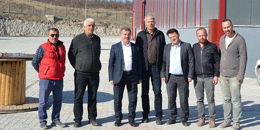 Havza Belediye Başkanı Özdemir OSB ziyaret