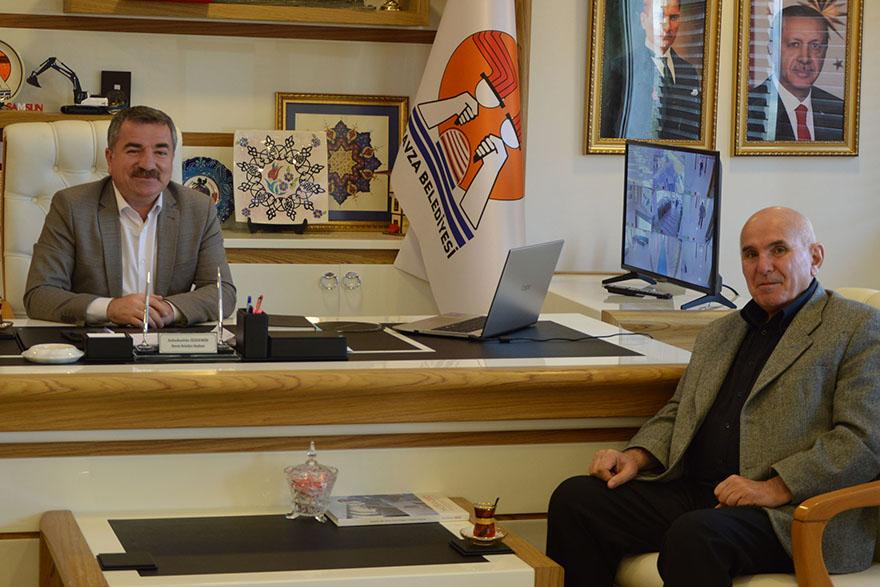 Silverline Endüstri ve Ticaret A.Ş. Başkan Özdemir'e Ziyaret