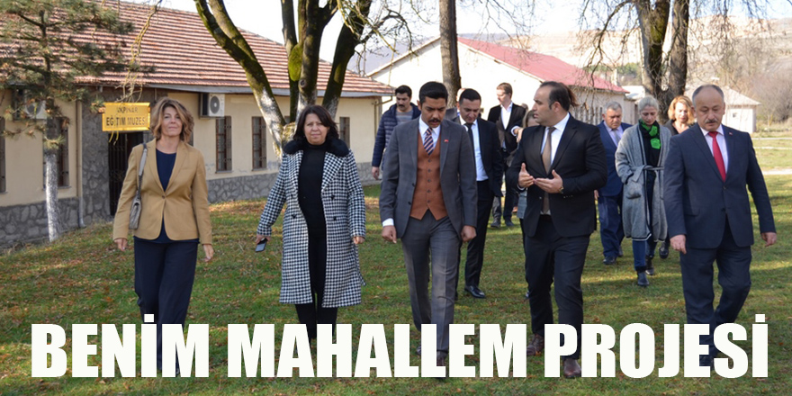 BENİM MAHALLEM PROJESİ