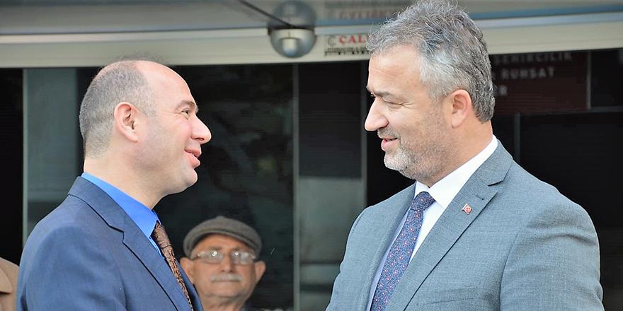 Emniyet Genel Müdür Yardımcısından Başkan Topaloğlu'na Ziyaret.
