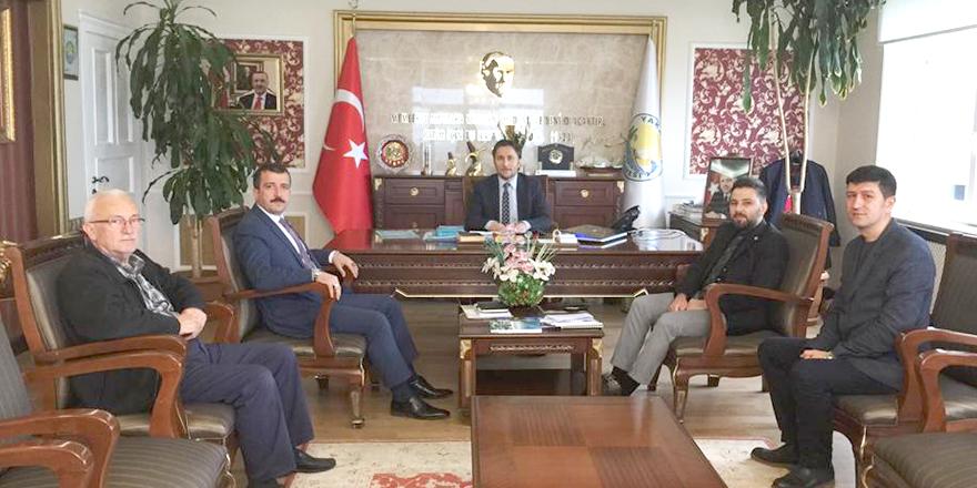 TKDK'DAN YAKAKENT BELEDİYESİ'NE ZİYARET