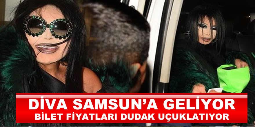 Bülent Ersoy Samsun'da Geliyor Biletleri Yok Satıyor