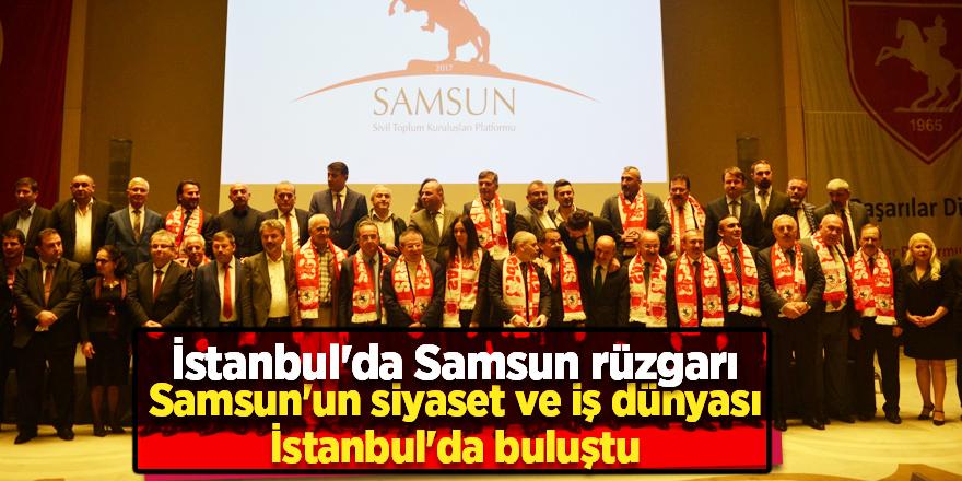 SAMSUNLULAR İSTANBUL'DA BULUŞTU