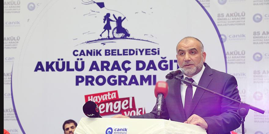 "Canik'te ""Hayata Engel Yok"""