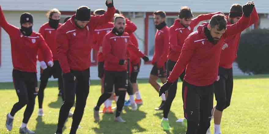 Samsunspor'da Çorumspor Hazırlıkları