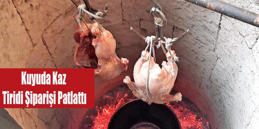 Kuyuda Kaz Tiridi Şiparişi Patlattı