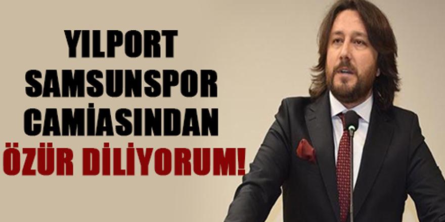 Çorumspor Başkanı Özür Diledi