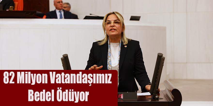 """Hancıoğlu;""""82 Milyon Vatandaşımız Bedel Ödüyor"""""""