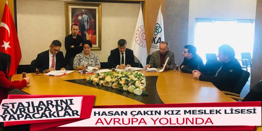 Hasan Çakın Mesleki veTeknik Anadolu Lisesi Avrupa Yolunda