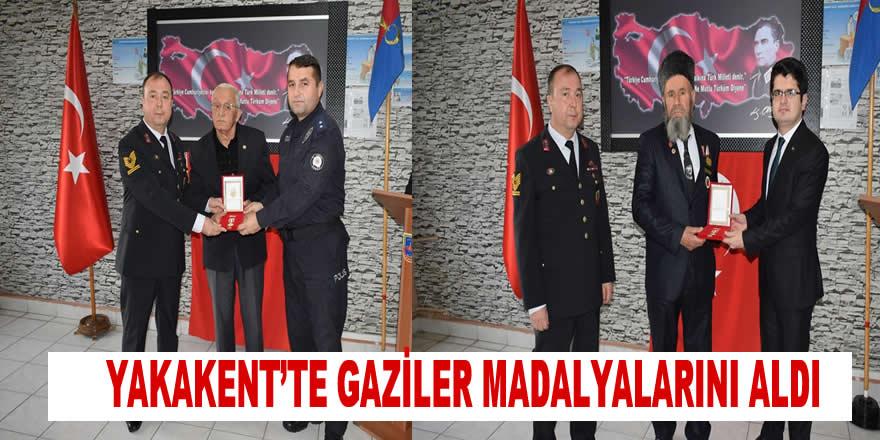 Kıbrıs Barış Harekatı Gazileri Madalyalarını Aldı