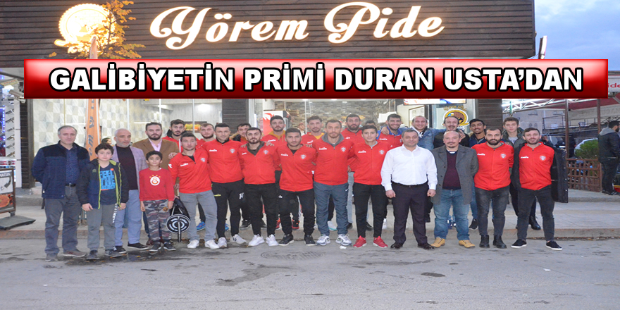 Duran Usta'dan Lidere Jest