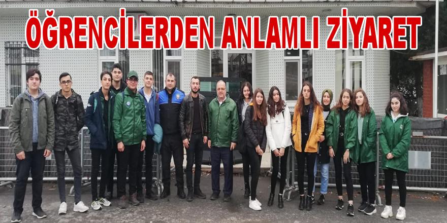 Yeşilay ve Öğrencilerden Polislere Ziyaret