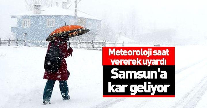 Meteoroloji saat vererek uyardı!