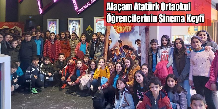 Alaçam Atatürk Ortaokul Öğrencilerinin Sinema Keyfi