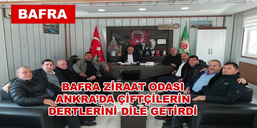 Samsun Ziraat Odası Başkanları Milletvekilleriyle Görüştü