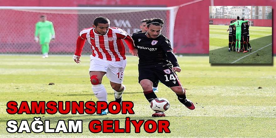 Samsunspor Pendikspor'u  2-0 yendi