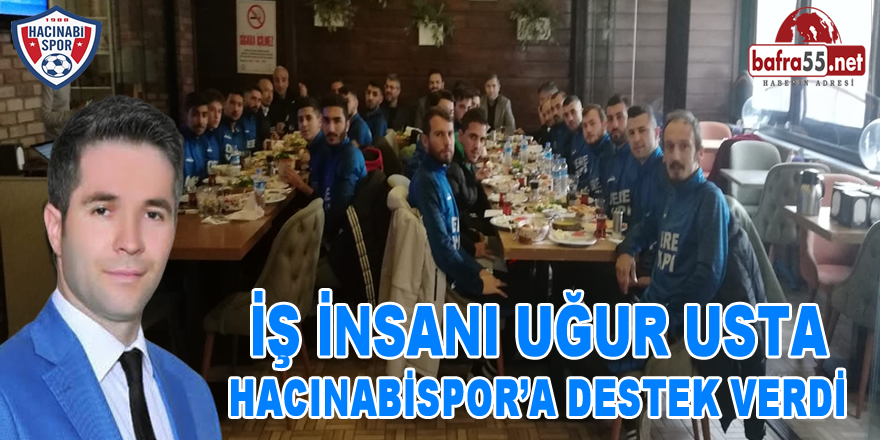 Bafralı İş İnsanı Uğur Usta Hacınbaispor'a Destek Verdi