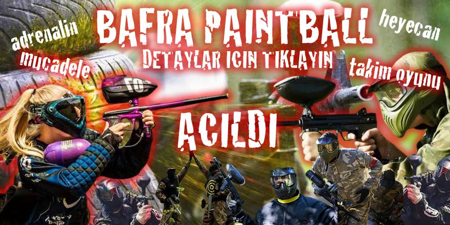 PaintBall Bafra'da Açıldı