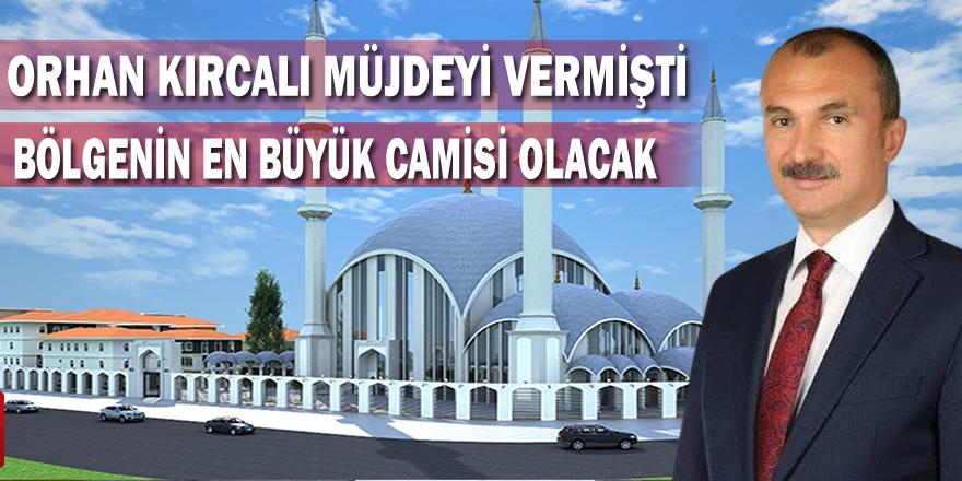 Orhan Kırcalı AK Parti Danışma Kurulu Toplantısında Müjdeyi Vermişti