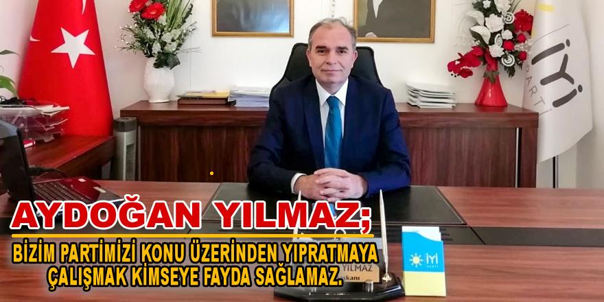 Aydoğan Yılmaz'dan Basın Açıklaması
