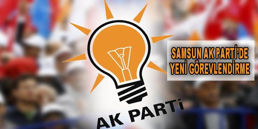 Samsun  AK Parti'de Yeni Görevlendirmeler