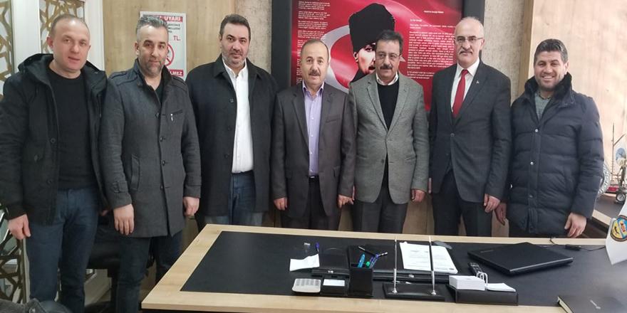 MHP Yönetiminden Kurumlara Ziyaret