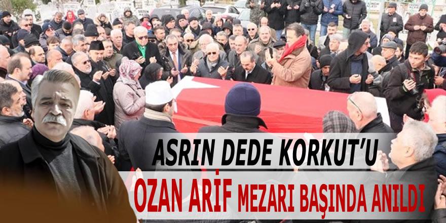 Ozan Arif Samsun'daki Mezarı Başında Anıldı.