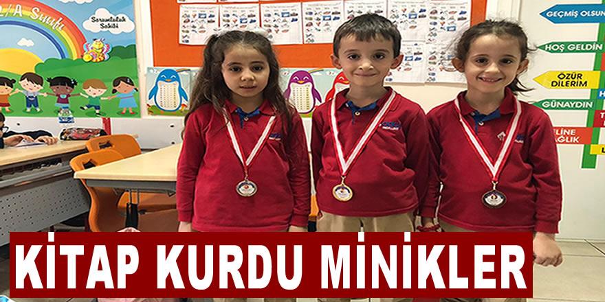 Özel Bafra Aday İlkokulu'nda Minik Kitap Kurtları