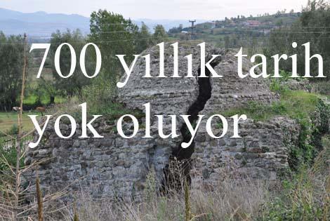 700 YILLIK TARİHİ HAMAM BAKIMSIZLIKTAN YIKILMAK ÜZERE