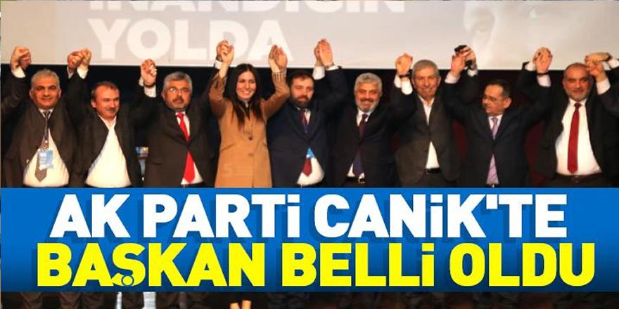 AK Parti Canik'te başkan belli oldu