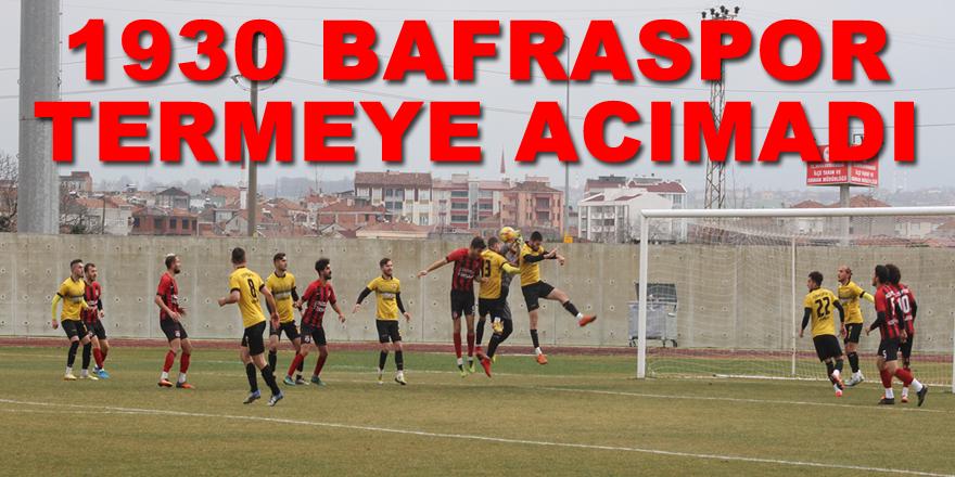 Bafraspor Terme'ye Acımadı