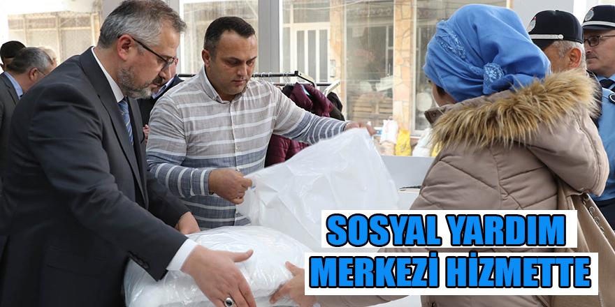 SOSYAL YARDIM MERKEZİ HİZMETTE