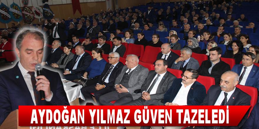 Aydoğan Yılmaz Güven Tazeledi İyi