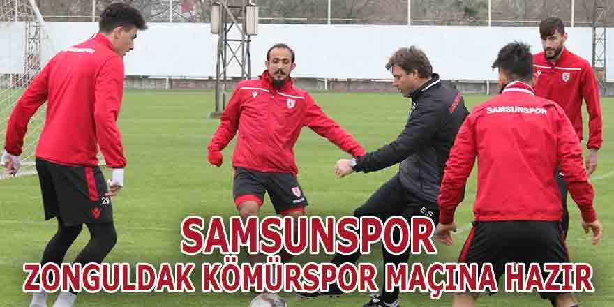 Samsunspor Zonguldak Kömürspor Maçına Hazır !