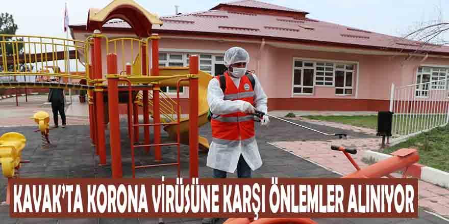 Kavak'ta Korona Virüsüne Karşı Önlemler Alınıyor